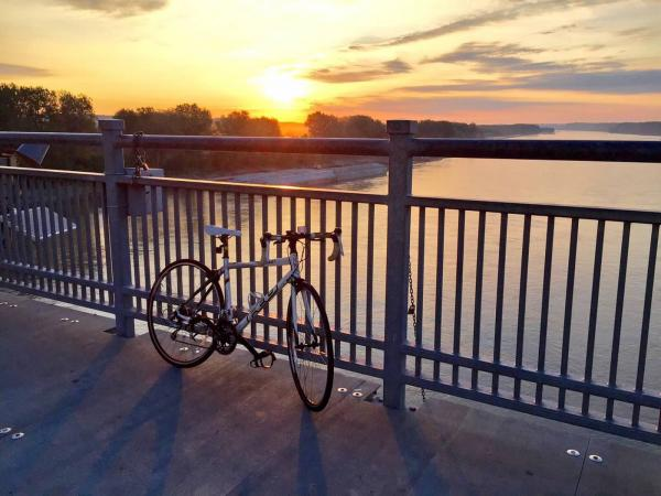 Missouri River Pedestrian/Bike Bridge