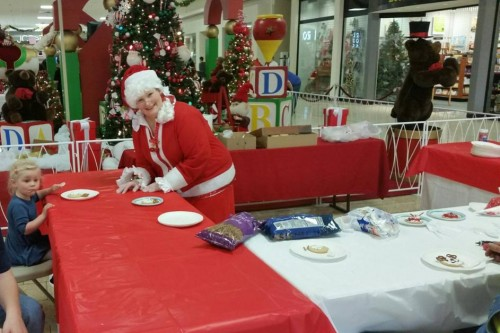 Cookie Decorating with Mrs. Claus