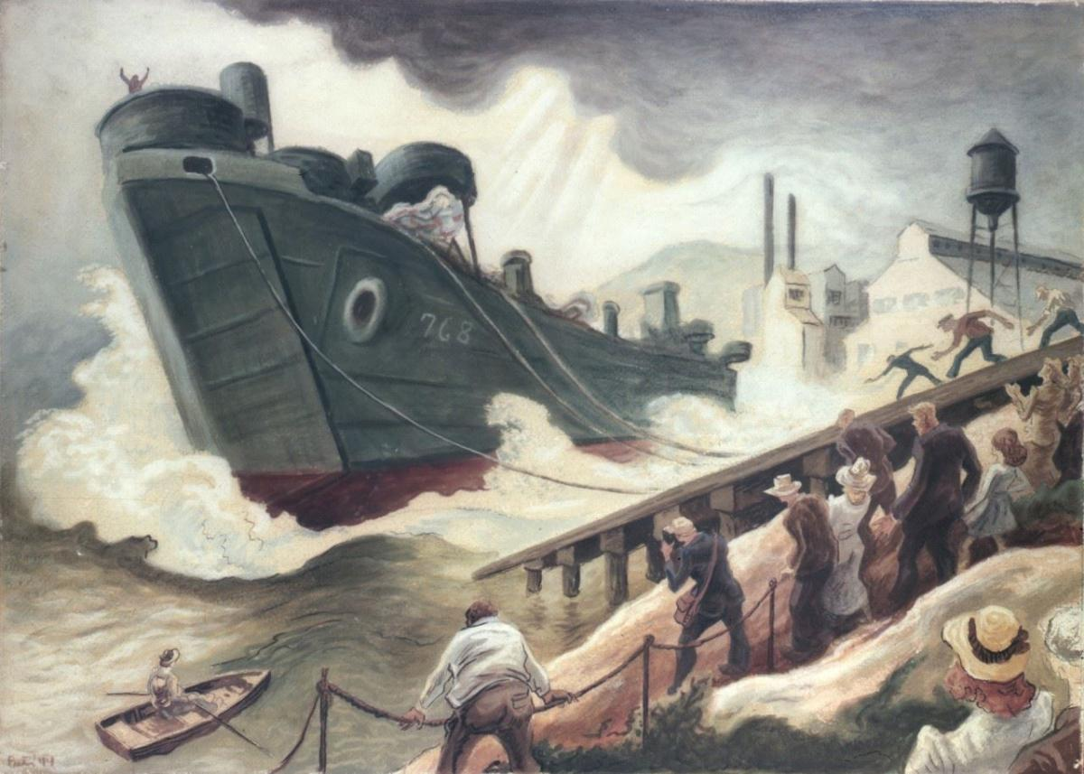 Exhibit: Thomas Hart Benton and the Navy