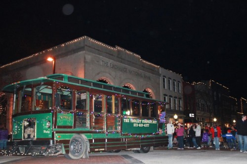 Holiday Light Tours on the Trolley