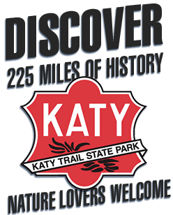Katy Trail.  Discover 225 Miles of History.